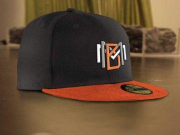 Cap Hat Scene PSD Mockup