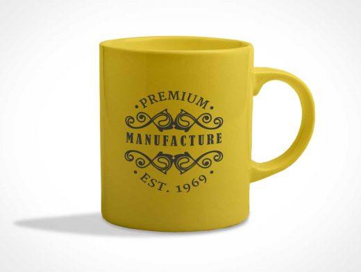 Color Changeable Coffee Mug PSD Mockup Template