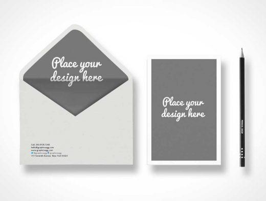 Envelope Branding Presentation PSD Mockup