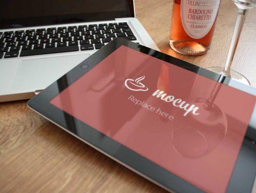 Free iPad 2 PSD Mockup Exclusive