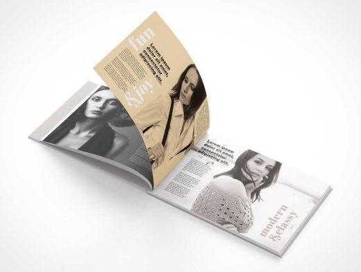 Hardcover Landscape Book PSD Mockup Series