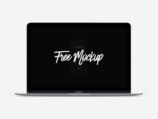 MacBook Air Scalable PSD Mockup