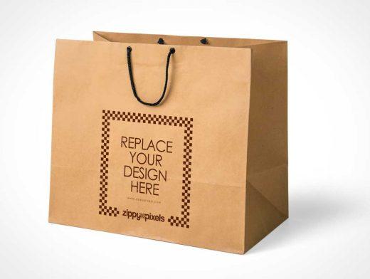 Simple & Appealing Free Shopping Bag PSD Mockup