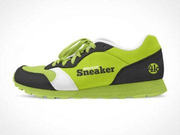 Sports Running Sneaker PSD Mockup